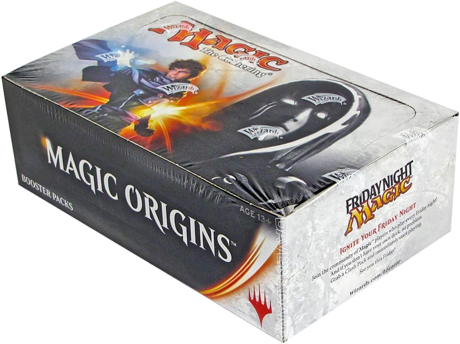 magi Origins Booster låda (ENGLISH) FACTORY SEAL BRAND NY MAGISK MTG ABUspel