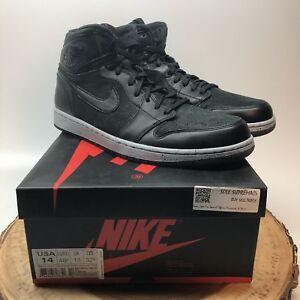 4d18cb2cfdd14e Nike Air Jordan Retro I NYC 23NY Black Oreo 715060 002 Size 14 PSNY ...