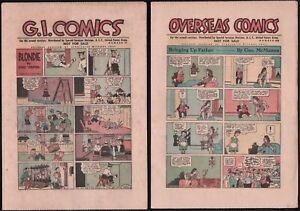 Fumetti-G-I-Comics-For-The-Armed-Services-Distribuito-ai-marines-USA-1946