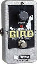 Electro-Harmonix Screaming Bird Treble Booster - free shipping