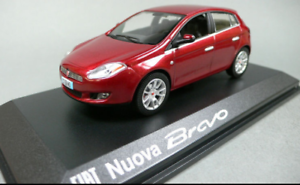 Fiat Nuova Bravo Red metallic 771096 1 43 norev