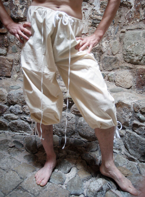 Médiéval   LARP   REPRODUCTION BRAIES   Pantalon Sous tailles sml-xxxxl
