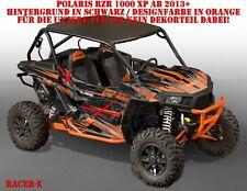 Invision DECORO GRAPHIC KIT UTV POLARIS General/RZR 900s/1000xp RACER-x B