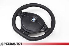 Abgeflacht Multifunktion 4 Lederlenkrad M Power BMW  E46 E39 mit Airbag (schwarz