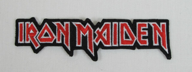 Iron Maiden C/O Iron On Sew On Patch Embroidered Punk Rock