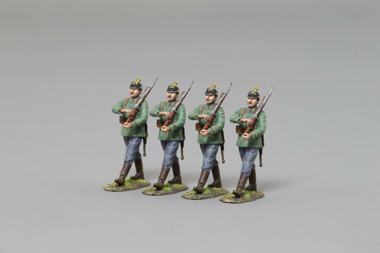 Thomas Gunn WW1 Deutsche GW084B 4 Teile Deutsche Infanterie Marsch MIB