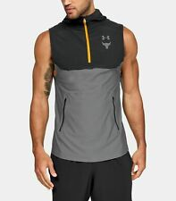 3XL Authentic Under Armour X Project Rock 2 Track Jacket Vest Men/'s Small