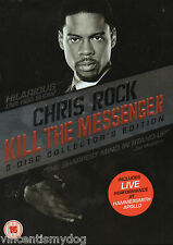 Chris Rock - Kill The Messenger (3 disc DVD, 2009)