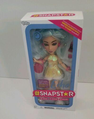 #SNAPSTAR Wanderlust Doll ECHO /& Doll Stand App Fashion By YULU