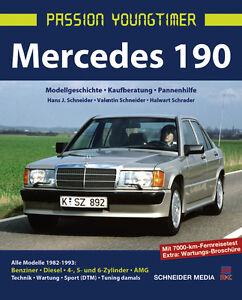 MERCEDES-190-E-Modelle-Kaufberatung-Geschichte-Typen-Technik-Reparaturbuch-Buch