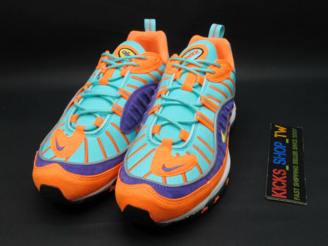 Details about Nike Air Max 98 Cone & Tour Yellow Mens size 11.5 Brand New in box 924462 800