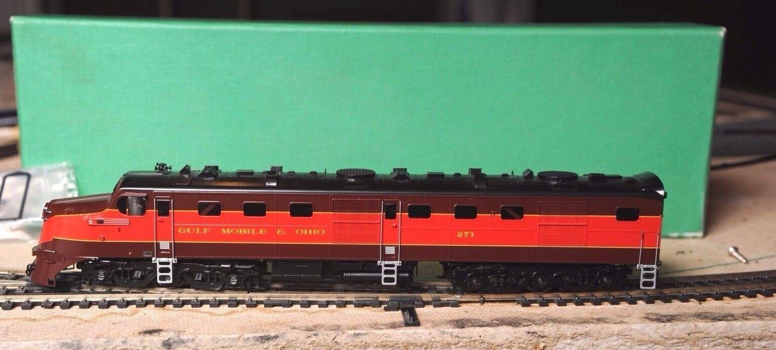 Overland Models Brass GM&O  DL-105 109 HO Scale.