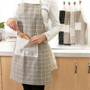 Plain-Apron-Pocket-for-Chefs-Butcher-BBQ-Kitchen-Cooking-Craft-Baking-Catering