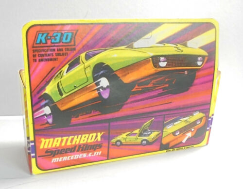Repro box Matchbox Speed Kings K 30 mercedes c 111