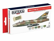 Hataka AS12 Israeli Air Force 1970s Desert Colors Camouflage Paint Set 6 Colors