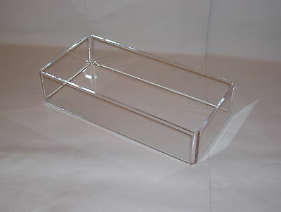 crystal clear acrylic accessory tray