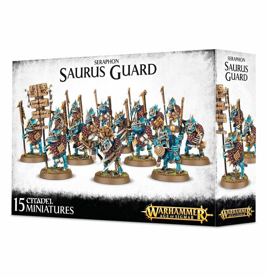 Seraphon Saurus Guard Age of Sigmar Games Workshop 20% off UK rrp