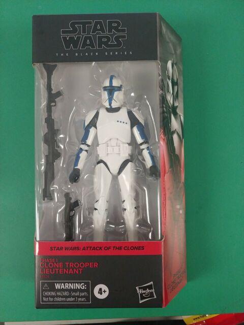 Walgreens Exclusive Star Wars The Black Series Clone Trooper Lieutenant IN HAND