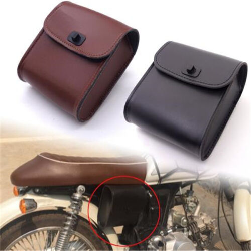 Cycling Motorcycle 1set Saddle Bag Bike Side Storage Satchel Tool Pouch Shan