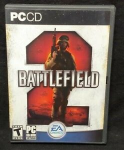 BATTLEFIELD 2 PC CD-ROM 2009 Original PC CD-ROM Complete Mint Disc 1 Owner