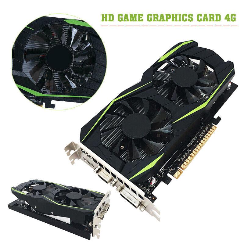 Desktop Graphics Card GTX1050TI 4GB DDR5 128bit Hdmi DVI VGA DVI Video Card