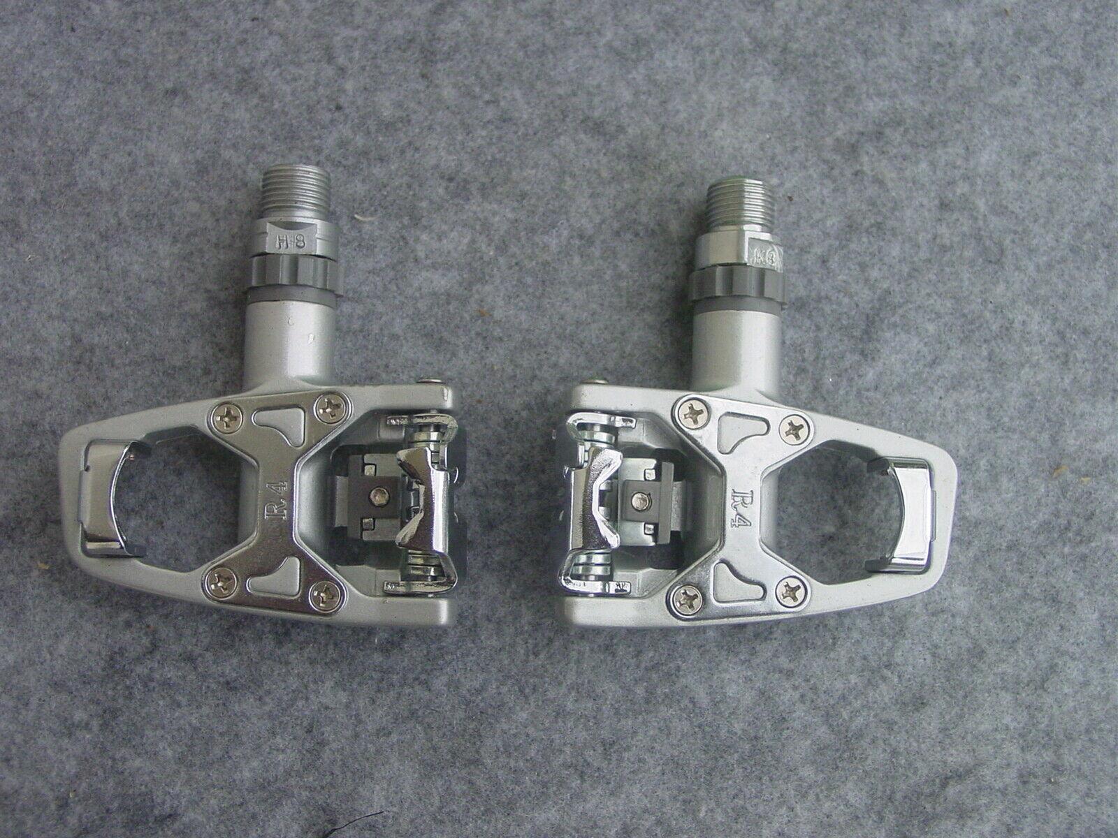 Wellgo Wam R 4 Bici da Corsa Pedali silver Nuovo Conf. Orig. Simile Sistema