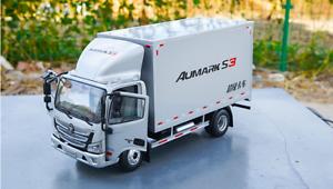 1 24 Foton Original manufacturer, Aumark S3 Container van Alloy car model