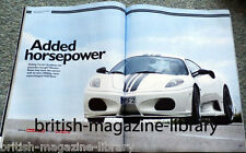 Evo 121 KTM X-Bow Focus RS v R26.R F430 Cooper Works v Abarth Corvette Z06 350Z