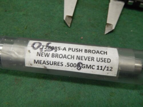 """USA 1//2/"""" Diameter Round Push Broach"""
