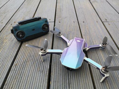Gloss Lavender Turquoise Colour Change DJI Mavic Mini vinyl skin//wrap//decal