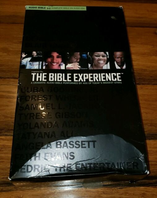 The bible experience audiobook