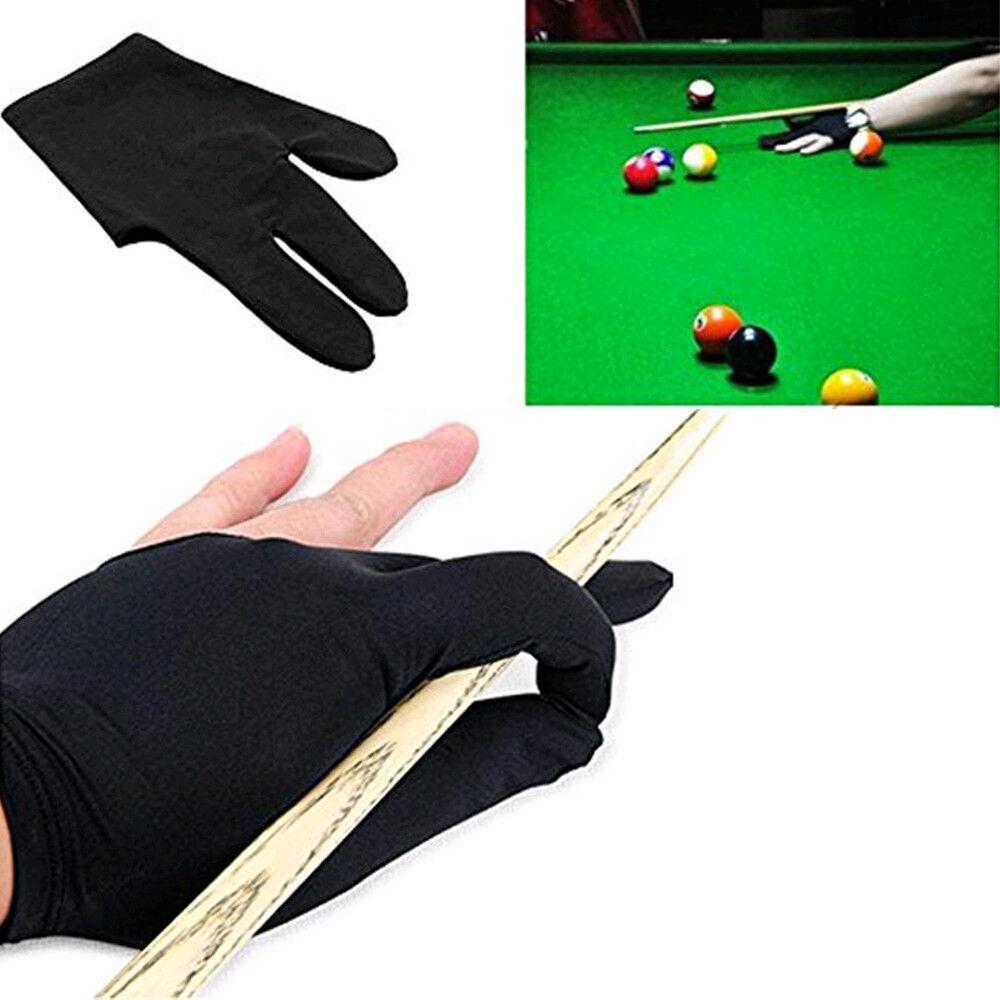 1 PCS Billiard 3 Cut Gloves Billiard Accessories Benkeg Pool Cue Gloves Left Hands