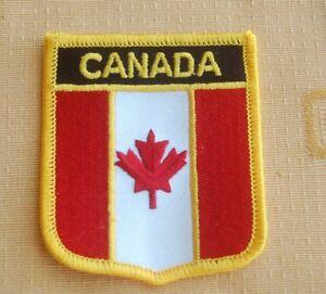 Kanada Canada Aufnäher Aufbügler Wappen Patch  Flagge
