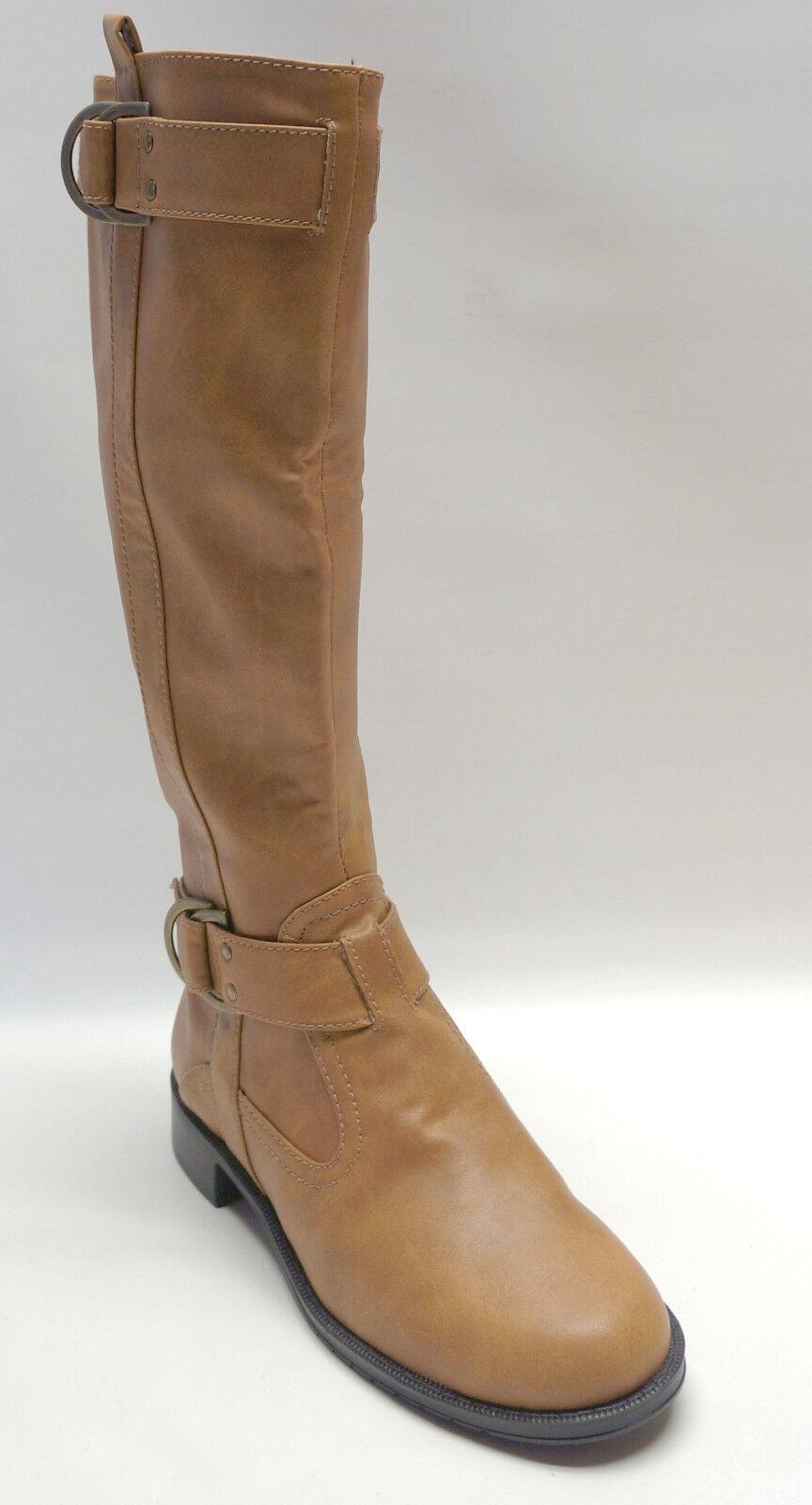 Aerosoles Foncé Bottes Style Cavalier Hauteur Genoux Ride Line Femmes Chaussures