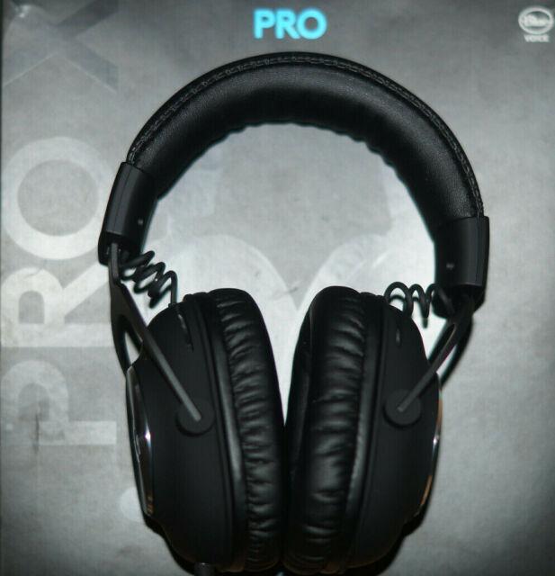 Logitech G PRO X Gaming Headset - Schwarz (981-000818)