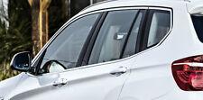 BMW Genuine OEM F25 X3 Aluminum Matt Side Window Ten Piece Trim Kit