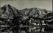 Seefeld Tirol alte AK Österreich 1959 Blick über den See zum Wetterstein Gebirge