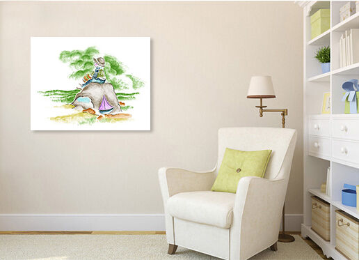 3D Mädchen bäume 522 Fototapeten Wandbild BildTapete Familie AJSTORE DE