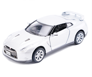 Model-Cars-Nissan-GTR-R35-5-Inch-1-36-Toys-Collection-Gifts-Alloy-Diecast-White
