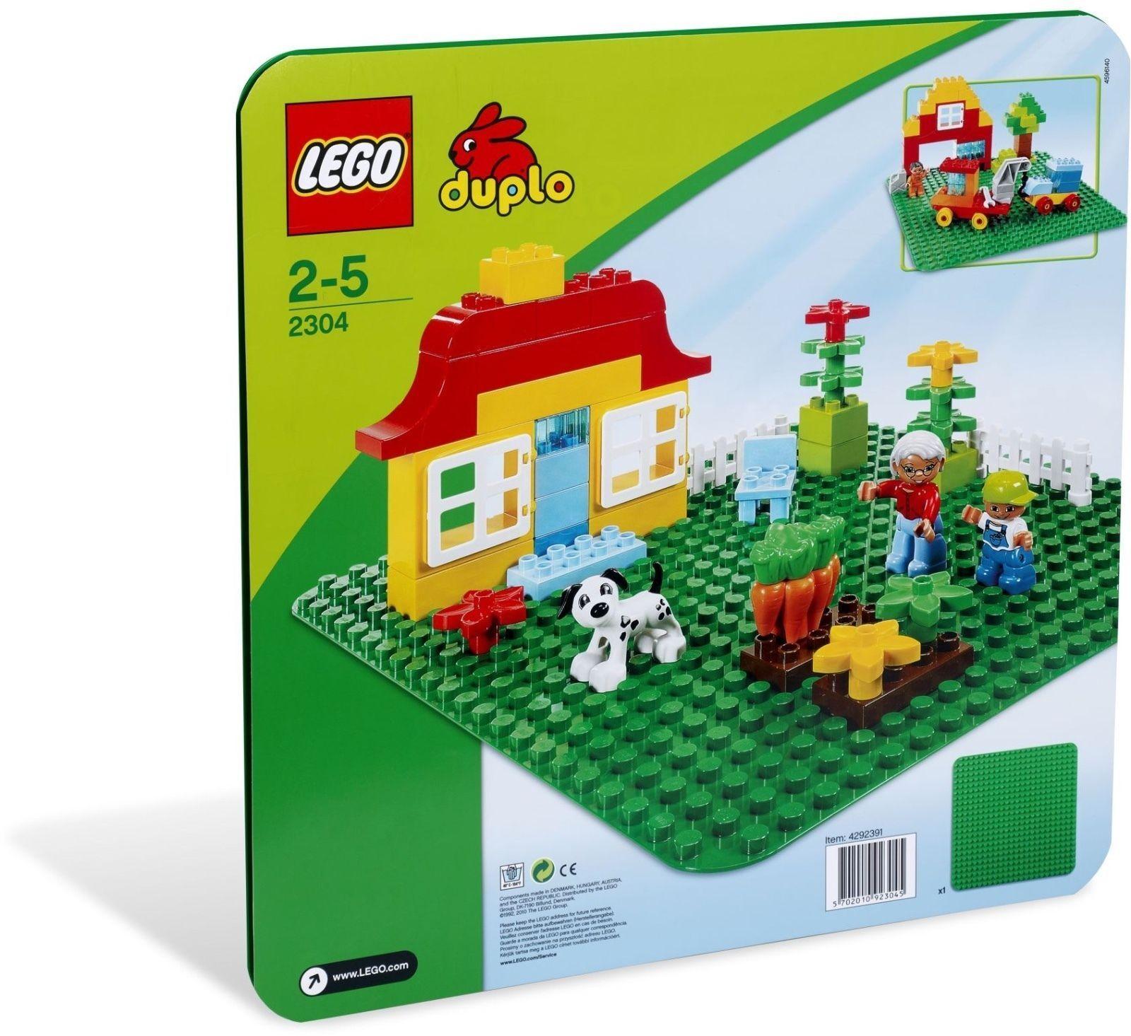 LEGO ® DUPLO ® 2304 verte Bauplatte Nouveau neuf dans sa boîte vert Plate New En parfait état, dans sa boîte scellée