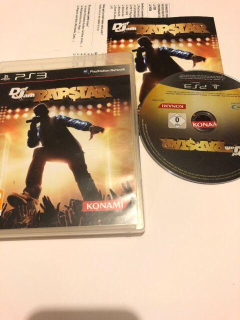 😍 Playstation 3 PS3 Pal Fr complet def jam rapstar chant rap hip hop + micro