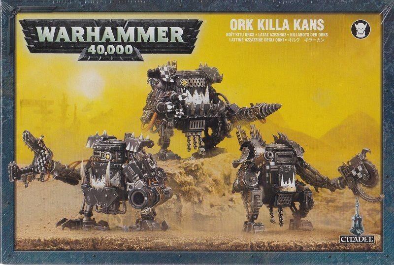 Killabots the Orcs Warhammer 40.000 Ork Killa Kans Games Workshop GW 40k 50-17