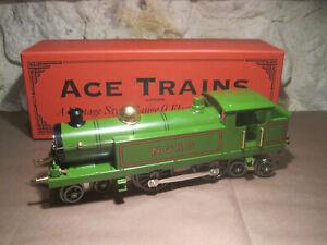 A.c.e. 0 Superbe Locomotive A Vapeur 4.4.4 Verte Neuf En Boite Jep/hornby nord
