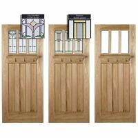 Lpd Doors Adoorable Oak Tuscany 3 Light Double Glazed Exterior/external Door