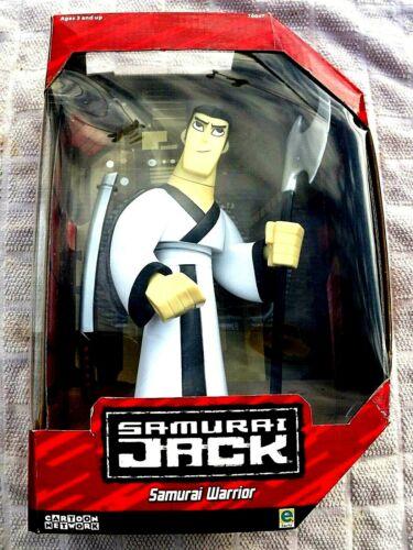 NEUF CARTOON NETWORK Samurai Jack Samurai Warrior Figure