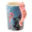 thumbnail 25 - Animal Shaped Handle Ceramic Mug Tea Coffee Cup Novelty Gift Jungle Tropical