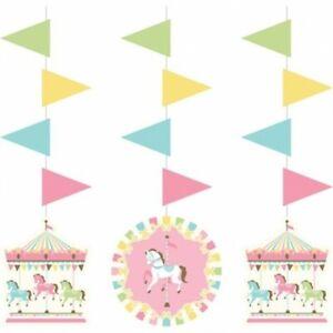 "Jungle Safari Hanging Cutout 3 Pack 22.5/"" x 5.9/"" Paper Birthday Decorations"