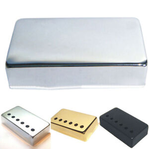 humbucker guitar pickup covers in silver black or gold ebay. Black Bedroom Furniture Sets. Home Design Ideas
