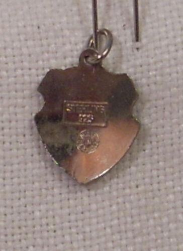 Patrick/'s Cathedral New York City Bracelet Charm Vintage REU Sterling//Enamel St