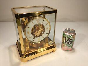 Vintage 1970's Jaeger LeCoultre Atmos 528 15 Jewel Perpetual Motion Clock 373999